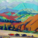 Post-impressionism in the Caucasus Mountains with Martiros Saryan