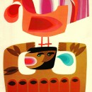 Brilliant mid-century illustrations from B. Løkeland