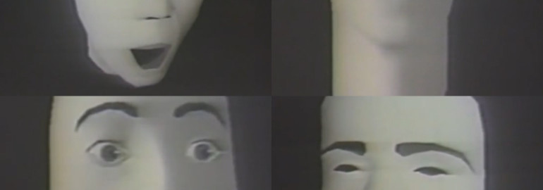 The first computer generated facial animation from 1974