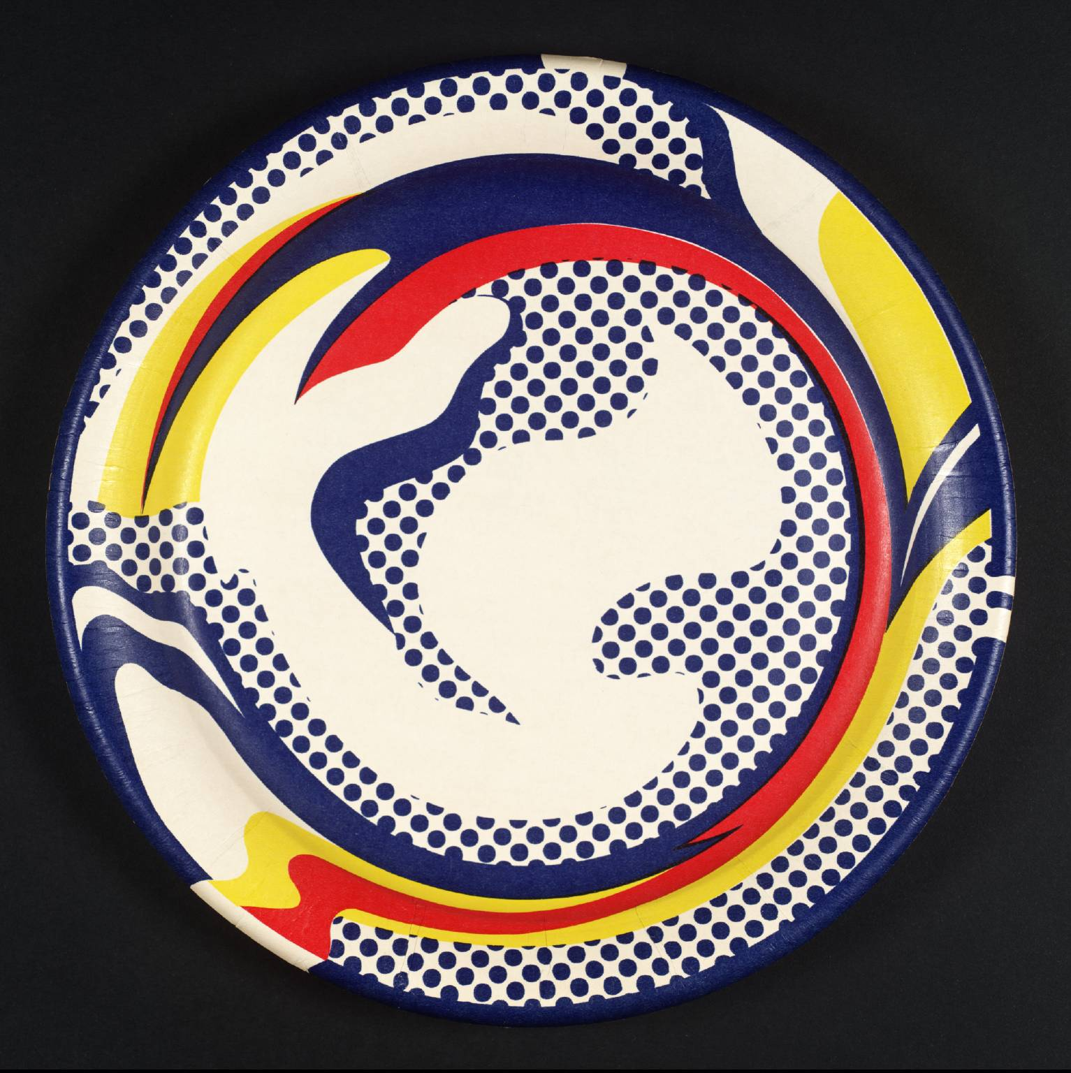 Untitled (Paper Plate) 1969 by Roy Lichtenstein 1923-1997