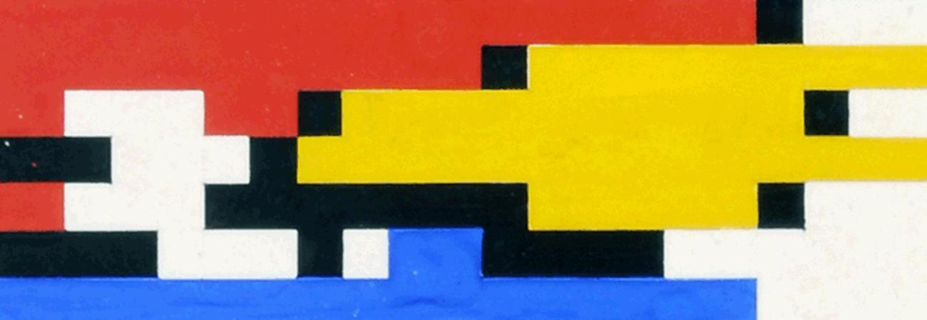 The man-machine: Hiroshi Kawano's algorithmic Mondrian